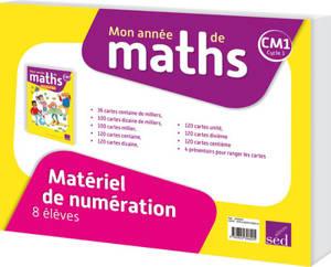 Mon année de maths CM1 : matériel de numération pour 8 élèves