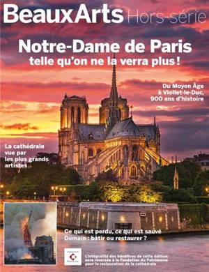 Notre-Dame de Paris telle qu'on ne la verra plus ! : du Moyen Age à Viollet-le-Duc, 900 ans d'histoire