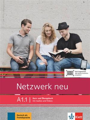 Netzwerk neu A1.1 : livre + cahier
