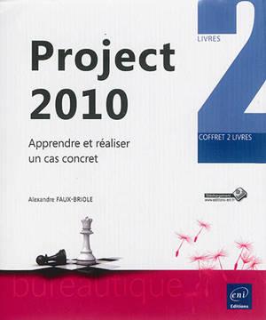 Project 2010 : apprendre et réaliser un cas concret : coffret 2 livres