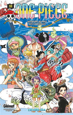 One Piece : édition originale. Volume 91, Aventure au pays des samouraïs