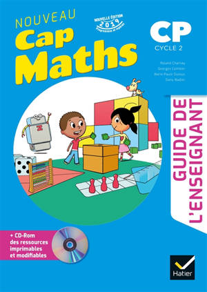 Cap maths, CP, cycle 2 : guide de l'enseignant