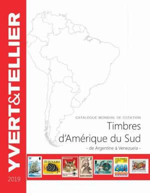 Catalogue de timbres-poste : Amérique du Sud : 2019