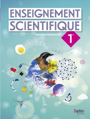 Enseignement scientifique 1re : nouveau programme