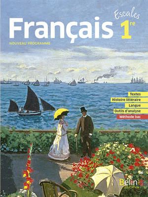 Français 1re : nouveau programme
