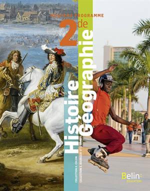 Histoire géographie 2de : nouveau programme