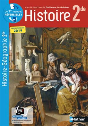 Compil histoire géographie 2de : nouveau programme 2019