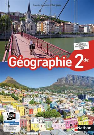 Géographie 2de : nouveau programme 2019