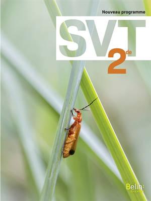 SVT 2de : nouveau programme