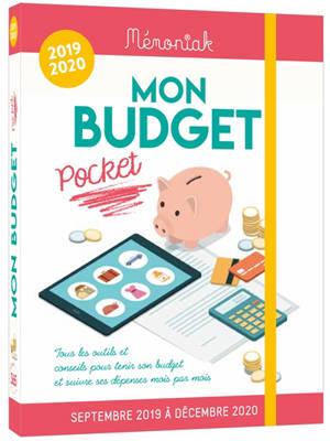 Mon budget pocket 2019-2020 : tous les outils et conseils pour tenir son budget et suivre ses dépenses mois par mois : de septembre 2019 à décembre 2020