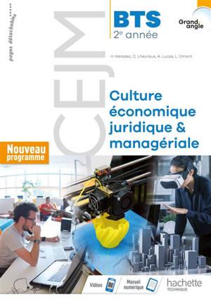 Culture économique, juridique et managériale, BTS 2e année : nouveau programme