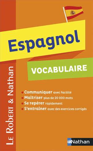 Espagnol, vocabulaire
