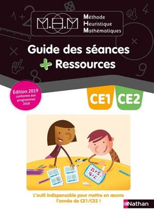 Méthode heuristique de mathématiques CE1-CE2 : guide des séances + ressources