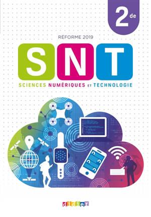 SNT sciences numériques et technologie 2de : réforme 2019