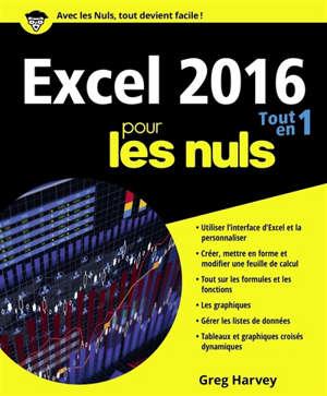 Excel 2016 : tout en un pour les nuls
