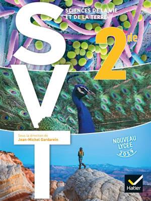 SVT, sciences de la vie et de la Terre 2de