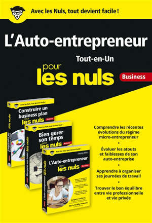 L'auto-entrepreneur tout-en-un pour les nuls : business
