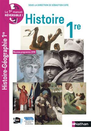 Compil histoire géographie 1re : nouveau programme 2019