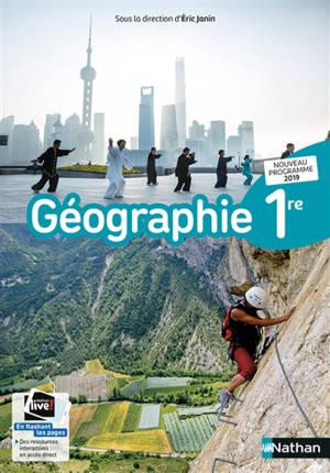 Géographie 1re : nouveau programme 2019
