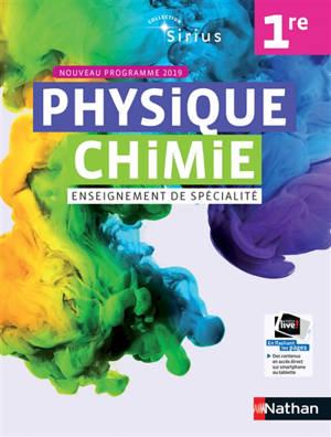 Physique chimie 1re enseignement de spécialité : nouveau programme 2019