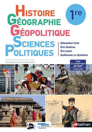 Histoire géographie, géopolitique, sciences politiques 1re : enseignement de spécialité