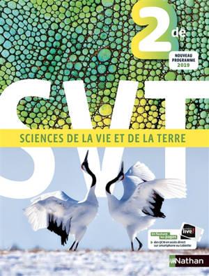 SVT, sciences de la vie et de la Terre 2de : nouveau programme 2019