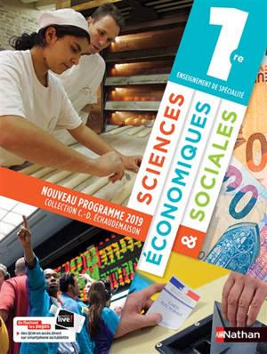 Sciences économiques & sociales 1re enseignement de spécialité : nouveaux programmes 2019