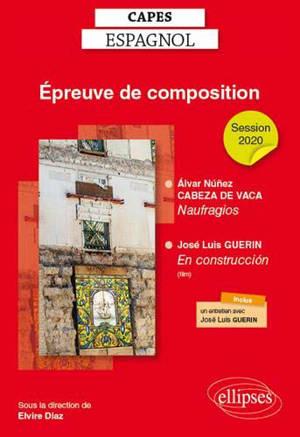 Epreuve de composition 1, Capes espagnol, session 2020