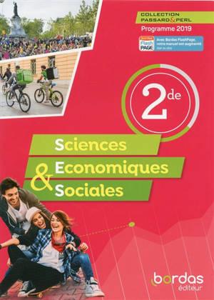 Sciences économiques & sociales 2de : programme 2019