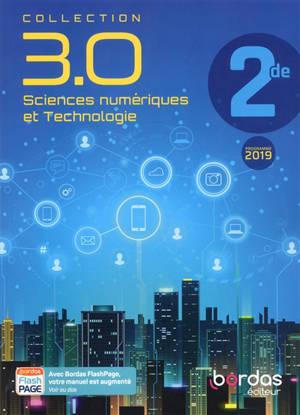 Sciences numériques et technologie 2de : programme 2019