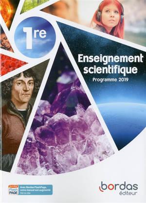 Enseignement scientifique, 1re : programme 2019