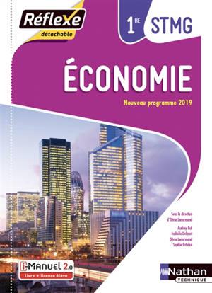 Economie, 1re STMG : i-manuel 2.0, livre + licence élève : nouveau programme 2019