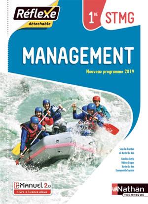 Management, 1re STMG : i-manuel 2.0, livre + licence élève : nouveau programme 2019