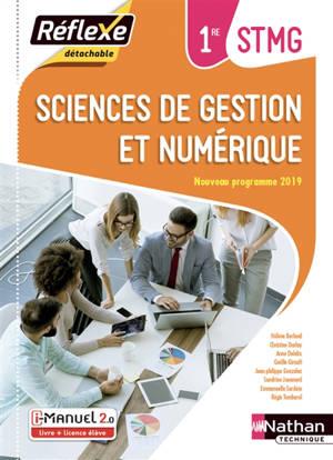 Sciences de gestion et numérique, 1re STMG : i-manuel 2.0, livre + licence élève : nouveau programme 2019