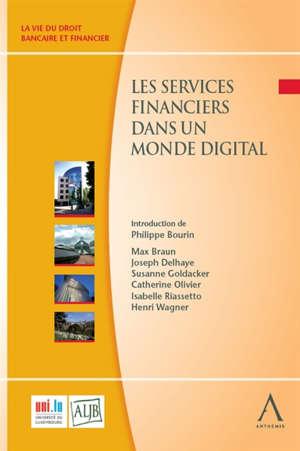 Les services financiers dans un monde digital