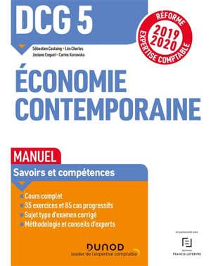 DCG 5, économie contemporaine : manuel