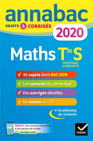 Maths terminale S, spécifique & spécialité : 2020