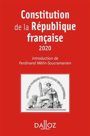Constitution de la République française : 2020