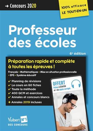 Professeur des écoles : concours 2020
