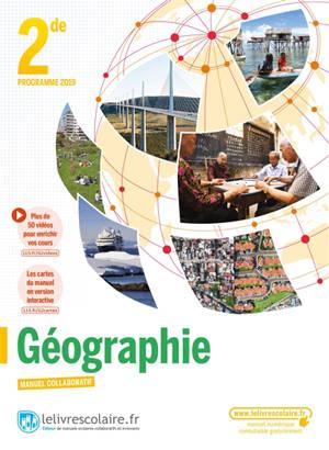 Géographie 2de : programme 2019