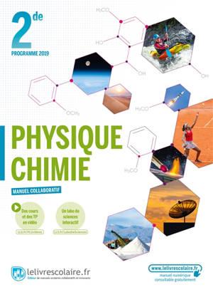 Physique chimie, 2de