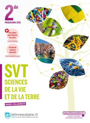 SVT, sciences de la vie et de la terre 2de : programme 2019