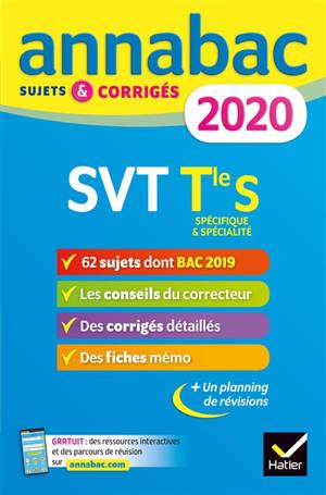 SVT terminale S, spécifique & spécialité : 2020