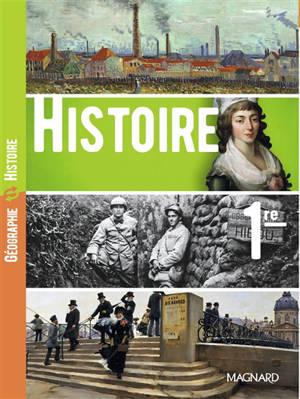 Histoire, 1re. Géographie, 1re : les dynamiques d'un monde en recomposition