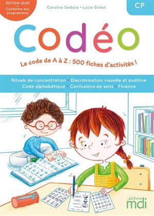 Codeo : fichier code alphabétique + CD