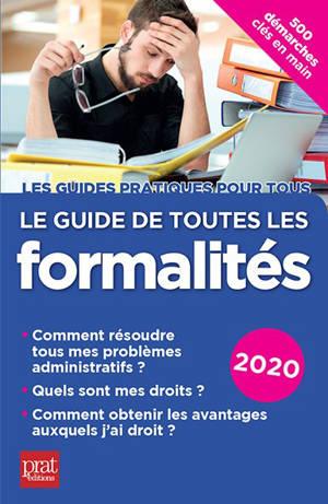 Le guide de toutes les formalités : 2020