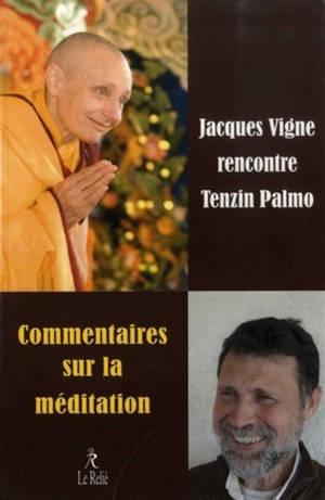 Commentaires sur la méditation : Jacques Vigne rencontre Tenzin Palmo : enseignements sur la spiritualité dans le quotidien