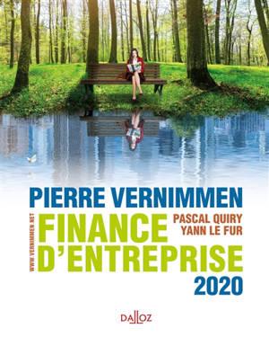 Finance d'entreprise : 2020