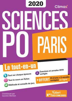 Sciences Po Paris 2020 : le tout-en-un