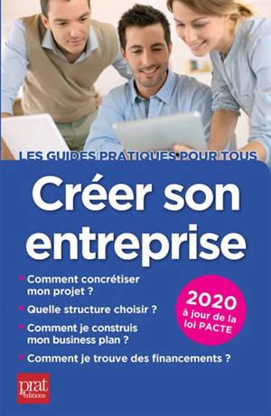 Créer son entreprise : 2020